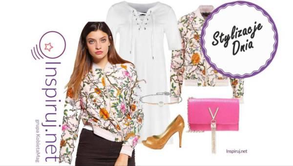 Modne stylizacje dnia z Inspiruj.net – Wiosenne kwiatowe wzory