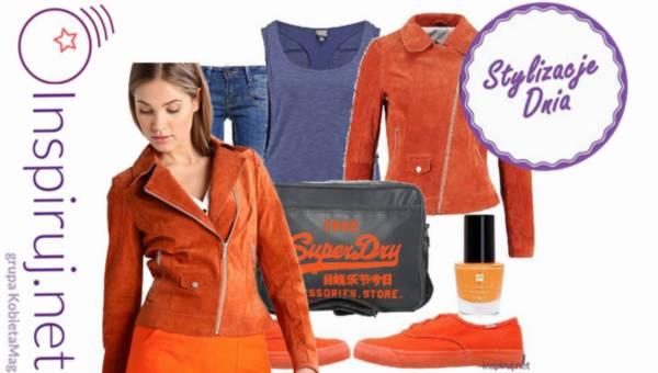 Stylizacje dnia z Inspiruj.net – Stylizacje w kolorze oranż