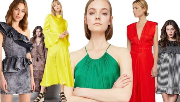 Sukienki na wiosnę 2017: przewodnik po trendach