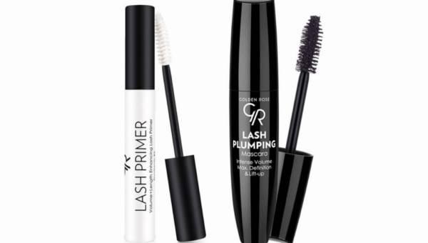 Lash Plumping Mascara i Lash Primer – nowości Golden Rose do makijażu oczu