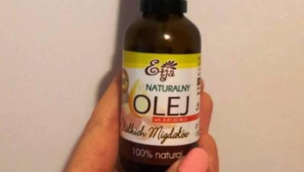 Naturalny olejek ze słodkich migdałów