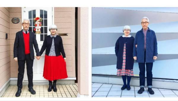 Gwiazdą Instagrama można stać się w każdym wieku! Oto niezwykła para z Japonii