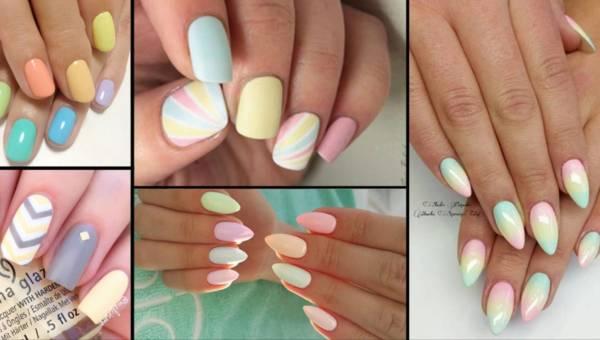Zarażaj kolorem i pozytywną energią! Pastelowe paznokcie na wiosnę 2017