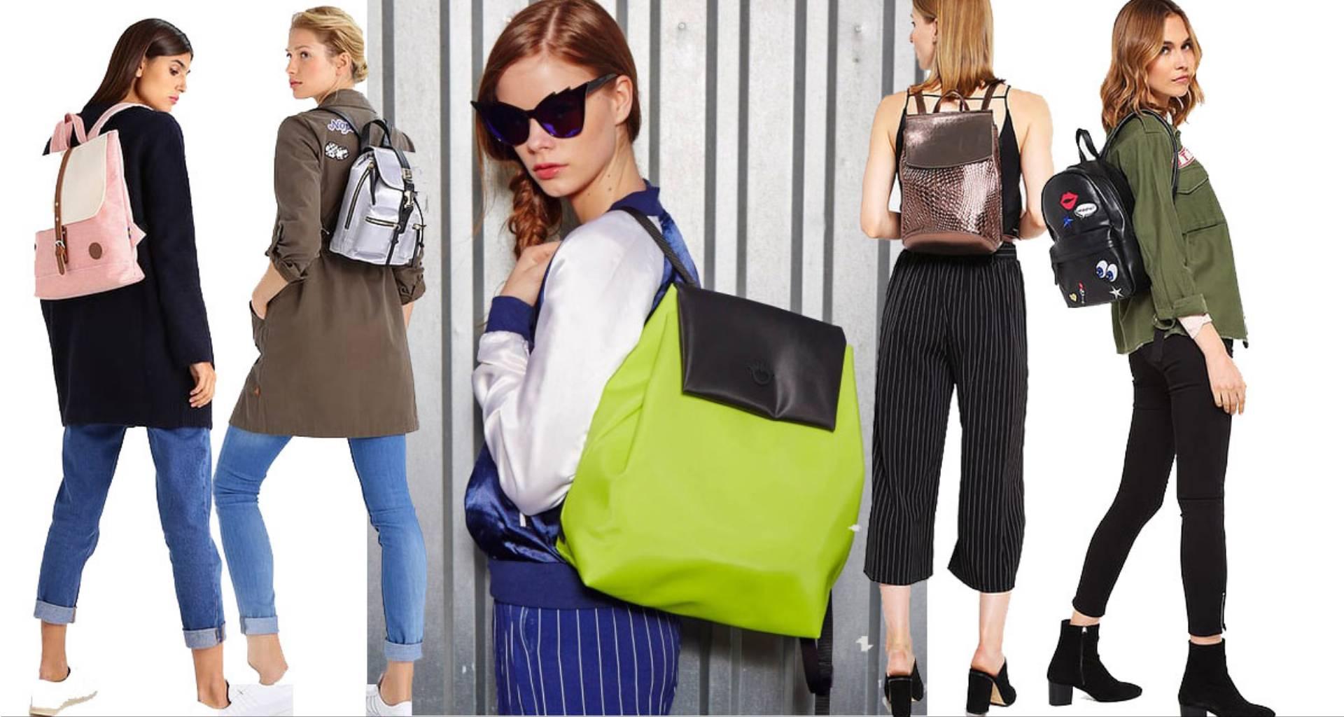 Modne plecaki damskie