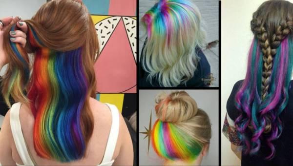 Rainbow roots – zaskakujący trend fryzjerski na wiosnę 2017!
