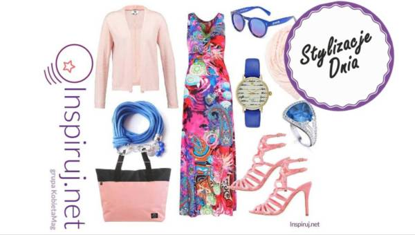Modne stylizacje dnia z Inspiruj.net – letnie torebki w tonacji różu