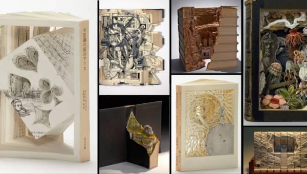 Zobacz, co kryje się między wierszami. Niesamowite rzeźby z książek!