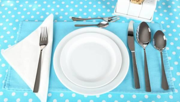 Savoir-vivre nakrywania do stołu