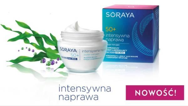 Soraya, kosmetyki INTENSYWNA NAPRAWA – linia dla kobiet dojrzałych w wieku 40+