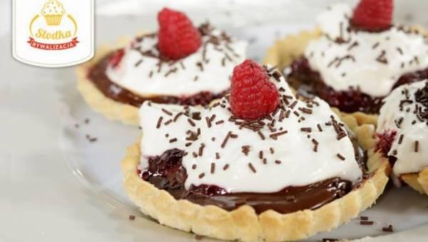 Tartaletki z czekoladą i kremem mascarpone