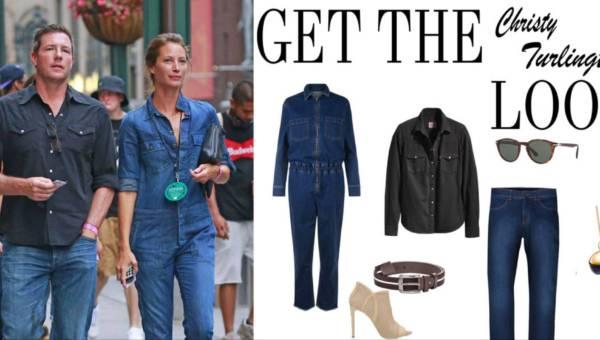 Ubierz się w dżins jak supermodelka Christy Turlington