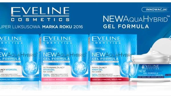 Nowość: hydrożelowe kosmetyki New AquaHybrid oparte na technologii hybrydowej od Eveline Cosmetics!