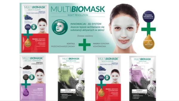NOWOŚĆ 2017: poznaj Multi BioMask – specjalistyczne maseczki na twarz