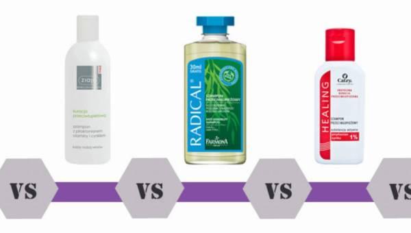 Bitwa na kosmetyki: Szampony przeciwłupieżowe – jaki wybrać: Head&Shoulders, Pix, Ziaja, Radical czy Catzy