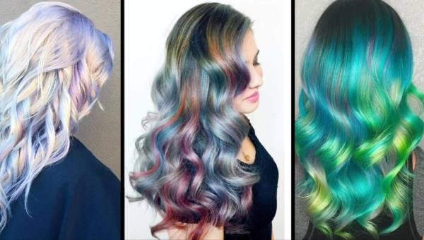 Holograficzne włosy – zwariowany trend na wiosnę 2017!