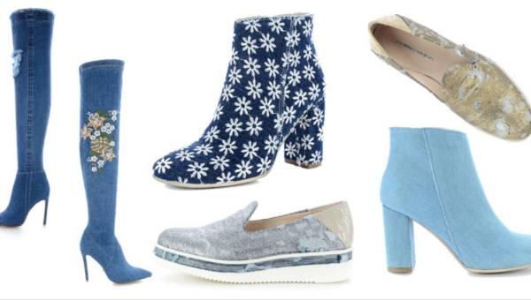 Jeansowe buty, czyli wiosna w mieście według Primamody