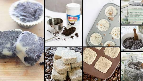Przygotuj własne antycellulitowe kostki do peelingu z kawą i olejem kokosowym!