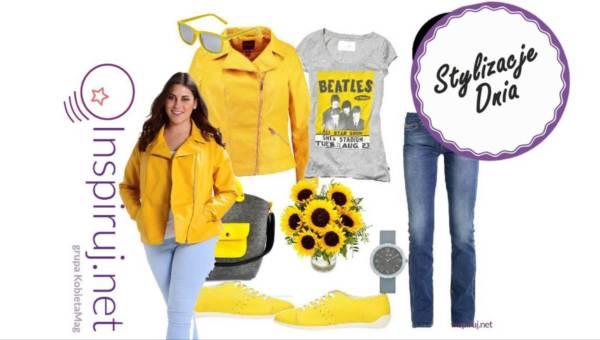 Stylizacje dnia z Inspiruj.net – Pomaluj mi świat na żółto
