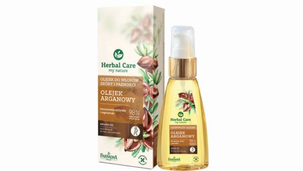 Farmona Herbal Care, Odżywczy Olejek ARGANOWY do pielęgnacji włosów, twarzy i ciała