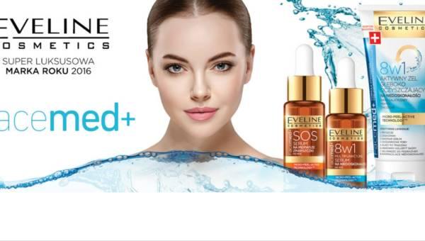 Zwalcz niedoskonałości cery i pierwsze zmarszczki z innowacyjnymi kosmetykami Facemed+ od Eveline Cosmetics!