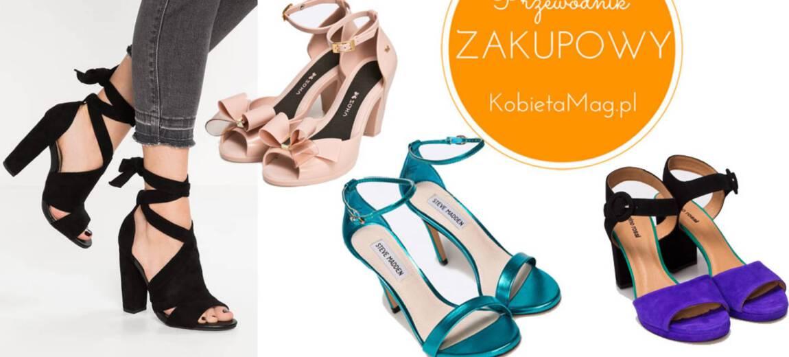 Shoppingowy przegląd: najładniejsze sandały na obcasie na wiosnę 2017