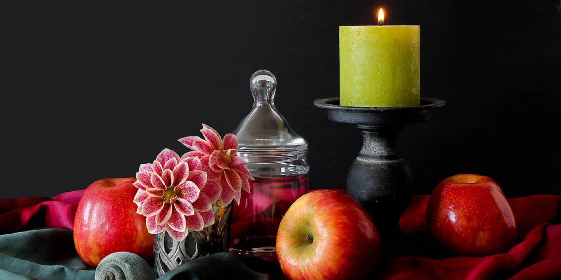 zapachy świec na wiosnę