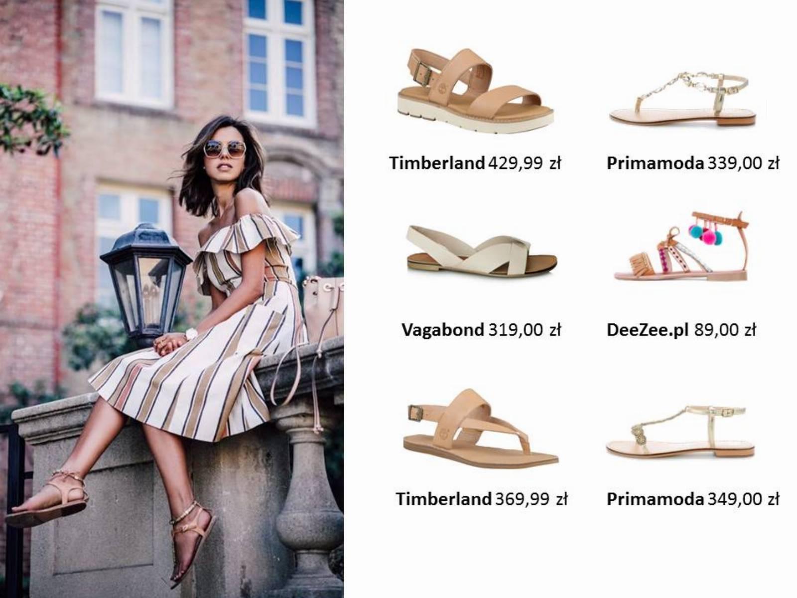 Najmodniejsze buty na lato 2017