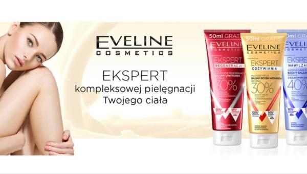 Nowość: Eveline Cosmetics – balsamy do ciała z linii Ekspert