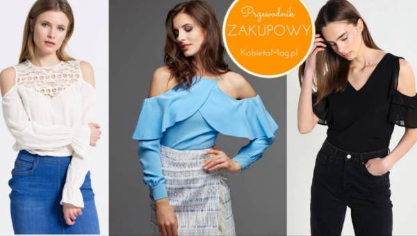 Przewodnik zakupowy: hit tej wiosny – bluzki i koszule typu cold shoulder!