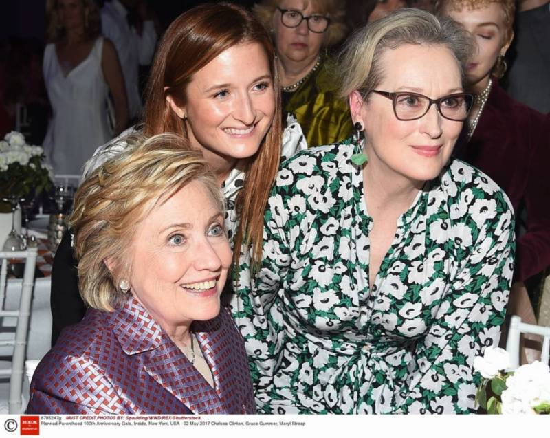 makijaż odmładzający Chelsea Clinton, Grace Gummer, Meryl Streep