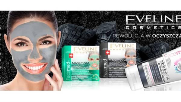Wiosenne oczyszczanie twarzy – nowe maseczki Eveline Cosmetics z serii FACEMED+
