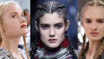 Modne fryzury z warkoczem – inspiracje prosto z wybiegów