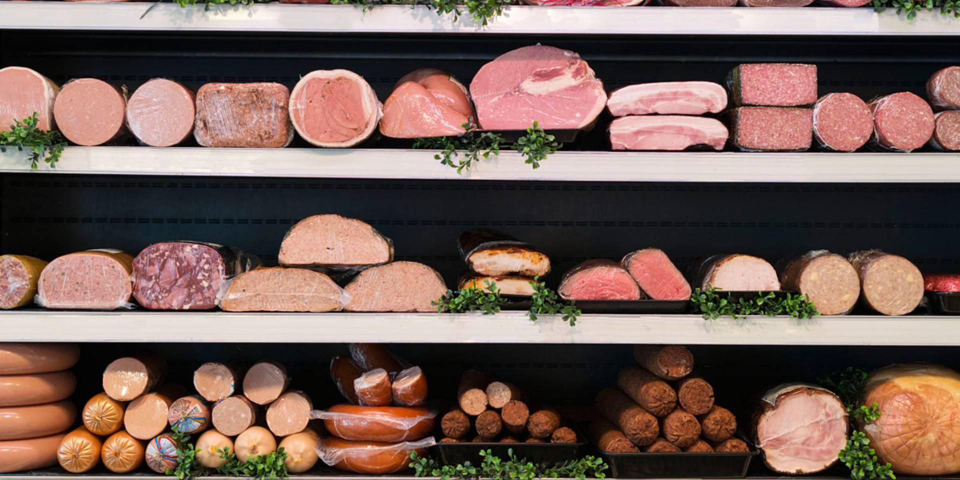 jedzenie mięsa