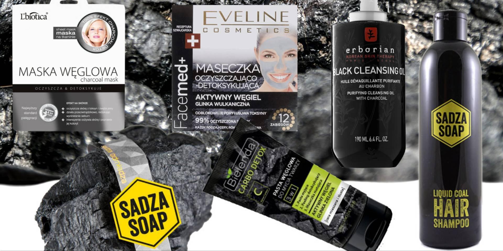 kosmetyki z węglem