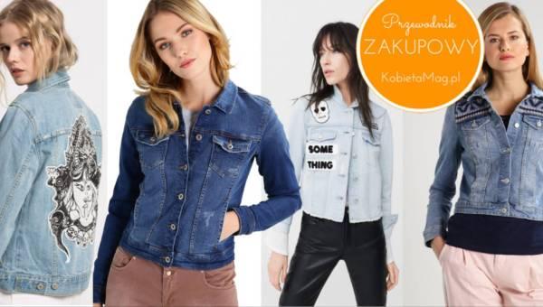 Przewodnik zakupowy: najładniejsze kurtki jeansowe 2017 do 500 złotych!