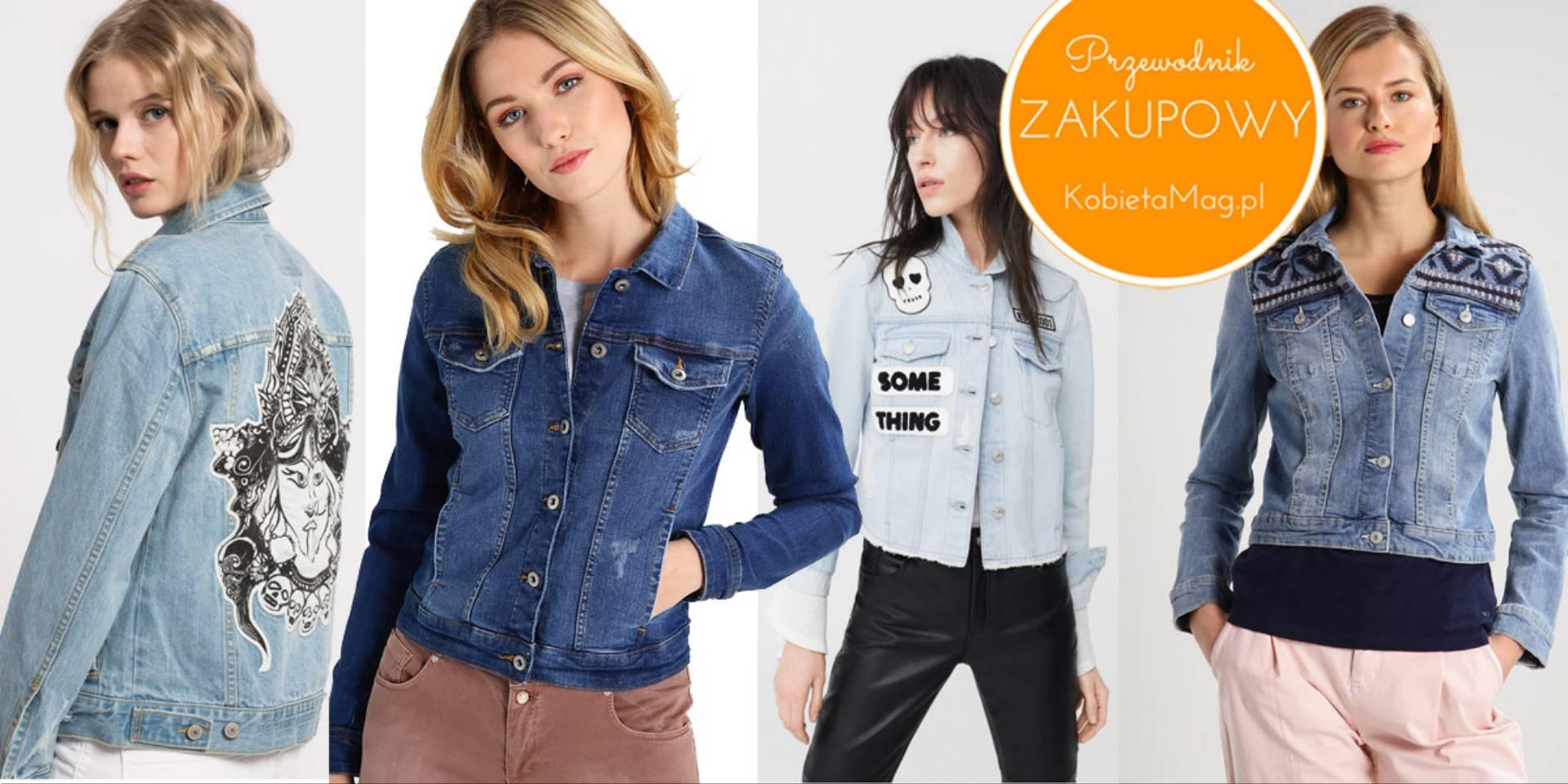 Przewodnik zakupowy: najładniejsze kurtki jeansowe 2017 do
