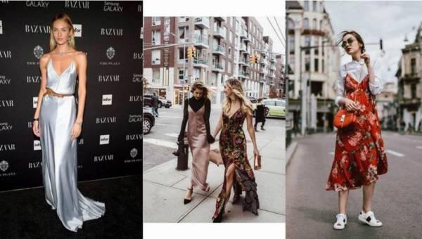 Moda bieliźniana – czyli sukienki slip dress idealną propozycją na gorące dni!
