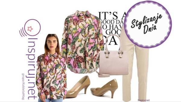 Stylizacje dnia z Inspiruj.net – Kolorowa koszula