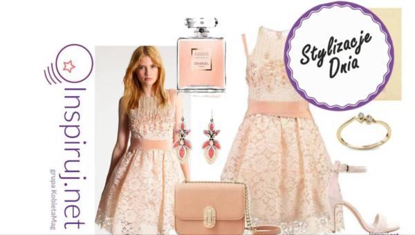 Stylizacje dnia z Inspiruj.net – Koronkowe sukienki na eleganckie wyjście