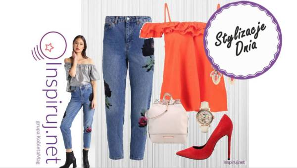 Stylizacje dnia z Inspiruj.net – Weekendowo: oryginalne jeansy