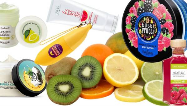 Słodkie owocowe kosmetyki, które wprawią Cię w wiosenną euforię!