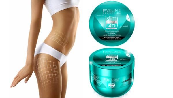 Eveline Cosmetics: Remodelująca Maska Antycellulitowa Body Wrapping z serii Slim Extreme 4D Professional