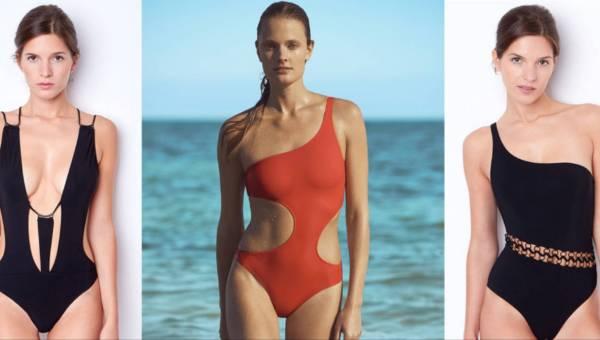 ETAM jednoczęściowe stroje kąpielowe 2017 – modne wycięcia