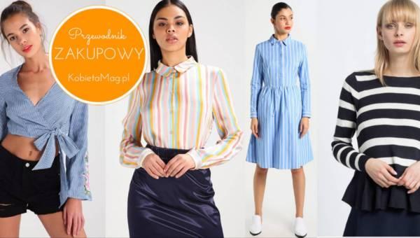 Przewodnik zakupowy: Wiosna za pasem – postaw na ubrania w paski!