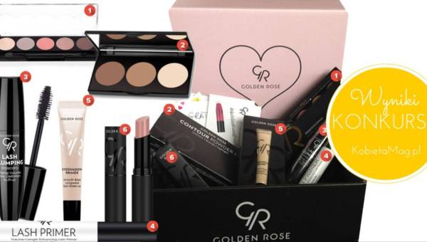 Wyniki konkursu: Makijaż typu Baddie Make-up z Golden Rose