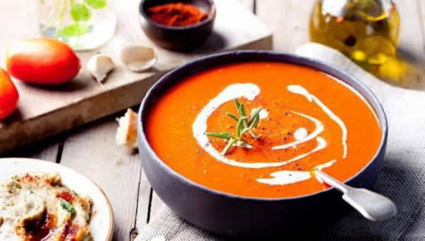 Przepis na: Chłodnik z pomidorów