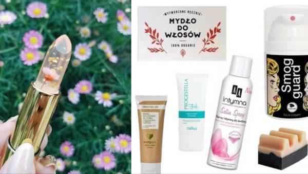 Szminka z zatopionym kwiatem i inne kosmetyki które Cię zaskoczą!