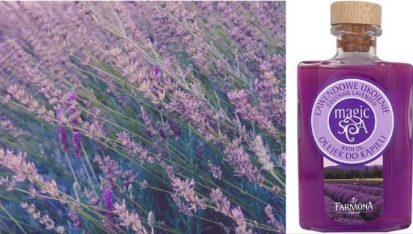 Kosmetyki Farmony pachnące lawendą