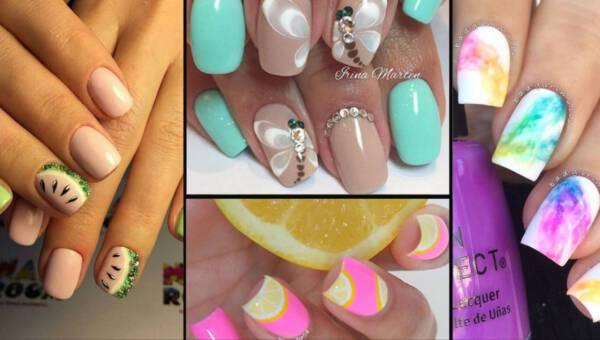 Paznokcie gotowe na wakacje – pomysły na modny manicure na lato 2017!