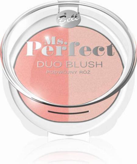 Bell, seria Ms. Perfect: Duo Blush – Róż w dwóch odcieniach
